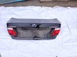 Крышка багажника. Lexus LS600hL