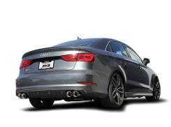 Выхлопная система. Audi S3, 8V1, 8VA, 8V7, 8VS