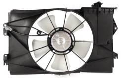 Диффузор радиатора в сборе TOYOTA COROLLA FIELDER/VOLTZ/RUNX/ALLEX/SPACIO/WILL VS/Vi (с мотором) SAT STTY282010