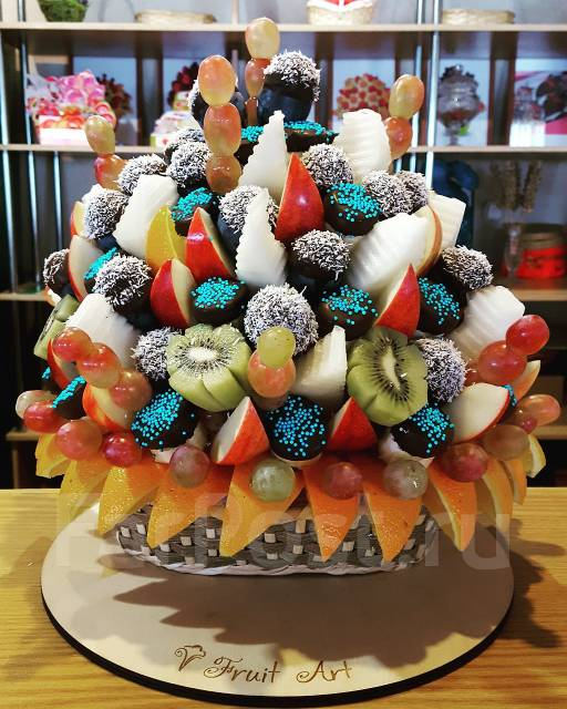 Фруктовый букет от Fruit Art - подарок со вкусом!