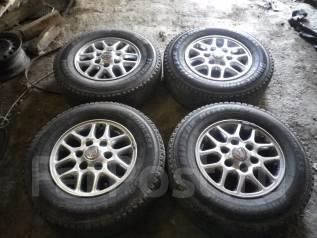 Комплект колес Nissan R15 на зимней резине /NakhodkaRS/. 7.0x15 6x120.00 ET0