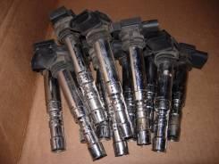 Катушка зажигания. Volkswagen Phaeton, 3D1, 3D6, 3D9, 3D3, 3D7, 3D4 Volkswagen Passat Audi S8, 4E8, 4E2 Audi A8, 4E8, 4E2, D3/4E Bentley Continental G...