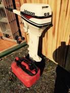Johnson. 9,90л.с., 2х тактный, бензин, нога L (508 мм), Год: 1998 год
