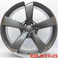Audi. 9.0x20, 5x112.00, ET25, ЦО 66,6мм.