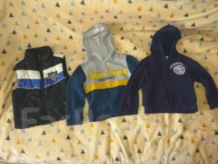 Вещи пакетом для мальчика от 1 года до 4-х. Рост: 80-86, 86-98, 98-104, 104-110 см