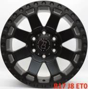 Black Rhino. 8.0x17, 6x139.70, ET0, ЦО 110,1мм.