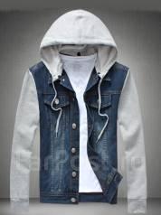 Куртки джинсовые. 52, 54