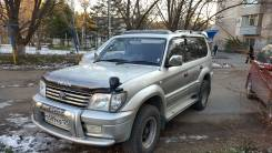 Toyota Land Cruiser Prado. автомат, 4wd, 3.4 (185 л.с.), бензин, 265 тыс. км