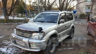 Toyota Land Cruiser Prado. автомат, 4wd, 3.4 (185 л.с.), бензин, 265 тыс. км