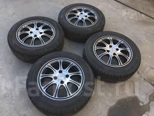 175/65 R14 Dunlop DSX-2 литые диски 4х100 (Lk-02). 5.5x14 4x100.00 ET38