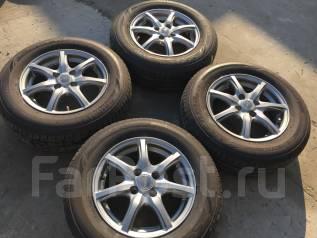 185/70 R14 Bridgestone EX20 литые диски 4х100 (Lk-07). 5.5x14 4x100.00 ET40