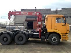 Камаз 6460. , тягач 6х4 с КМУ UNIC 12.2 м, г/п 3 т, 11 760 куб. см., 3 000 кг., 12 м.
