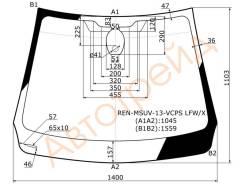 Стекло лобовое в клей RENAULT KAPTUR/SAMSUNG QM3 5D 13-
