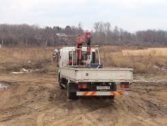 Isuzu Forward. грузовик с Манипулятором., 5 193 куб. см., 5 000 кг.