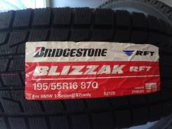 Bridgestone Blizzak RFT. Зимние, без шипов, 2016 год, без износа, 4 шт