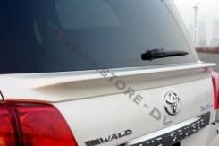Спойлер на заднее стекло. Toyota Land Cruiser, UZJ200W, VDJ200, J200, URJ202W, GRJ200, URJ200, URJ202, UZJ200. Под заказ