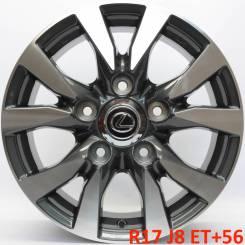 Lexus. 8.0x17, 5x150.00, ET56, ЦО 110,1мм.