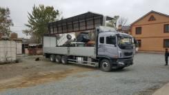 Daewoo Prima. , фургон-бабочка 8х4, 22.5 т., 10 200 куб. см., 22 500 кг.