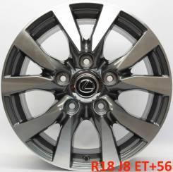 Lexus. 8.0x18, 5x150.00, ET56, ЦО 110,1мм.