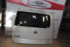 Дверь багажника. Nissan Cube, YZ11, BNZ11, BZ11 Nissan Cube Cubic, BGZ11, YGZ11, YGNZ11 Двигатели: CR14DE, HR15DE