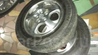 Продам два комплекта колес, зимние и летние 215х65х16. Бриджи . 5x114.30 ET-2 ЦО 67,1мм.