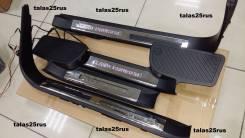 Порог пластиковый. Toyota Land Cruiser, VDJ200, URJ202W, UZJ200W, URJ202, UZJ200