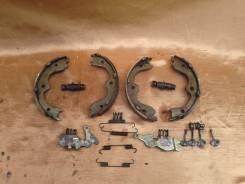 Колодка стояночного тормоза. Nissan Versa Nissan Teana, TNJ31, J31, PJ31 Двигатели: VQ35DE, QR25DE, VQ23DE, QR20DE
