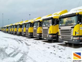 Scania. 60 седельных тягачей G400 LA4x2HNA, 13 000 куб. см., 44 000 кг.