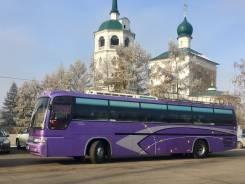 Kia Granbird. Туристический автобус KIA Granbird 2002 г. в., 45 мест, 16 746 куб. см., 45 мест