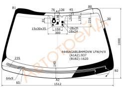 Стекло лобовое собогревом щеток в клей KIA SORENTO 5D 14- XYG 4446AGABLBHMOVW LFW/H/X