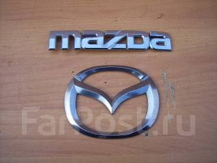 Эмблема багажника. Mazda RX-8, SE3P Двигатель 13BMSP