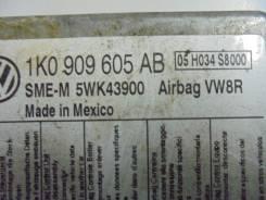 Блок управления airbag. Volkswagen Golf Plus Volkswagen Golf, 1K5, 1K1 Volkswagen Jetta Двигатели: ABS ADZ, ABD AEX, ABV, ABF, ABD