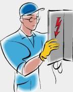 Услуги электриков.