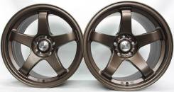 NS Wheels. 8.5/10.5x18, 5x114.30, ET15/35, ЦО 73,1 мм.
