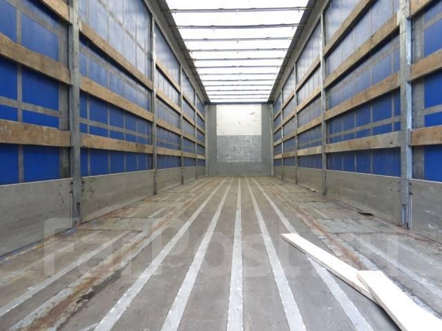 Pacton. Полуприцеп тентованный штора-борт 2008г. Коники., 35 000 кг.