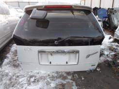 Дверь багажника. Mitsubishi Chariot Grandis, N84W, N94W Mitsubishi Chariot Двигатель 4G64