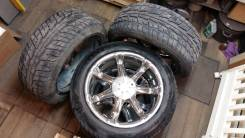 Продам Литьё с резиной комплект 4 колеса. x20, 6x139.70