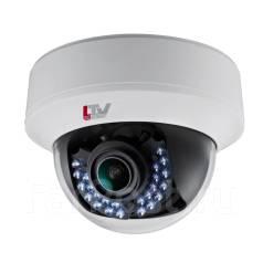 Купольная HD-TVI видеокамера с ИК-подсветкой LTV-TCDM2-7010L-V2.8-12. без объектива