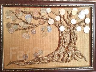 Денежное дерево! Ручная авторская работа. Под заказ