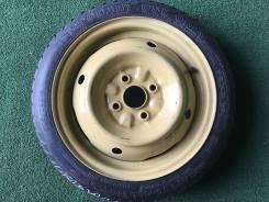 115/70R14. Запаска. ОДНО. C диском. Из Японии (Z1). 4.0x14 4x100.00 ЦО 55,0мм.