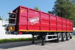 MEGA. Полуприцеп самосвальный Mega Optimum 40м3 новый, 31 800 кг. Под заказ