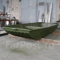 Продам алюминиевая лодка плоскодонка. Год: 2017 год, длина 3,00м., двигатель подвесной, 10,00л.с., бензин. Под заказ