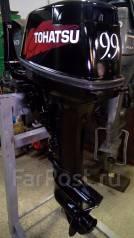 Tohatsu. 9,90л.с., 2х тактный, бензин, нога S (381 мм), Год: 2005 год
