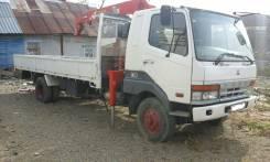 Mitsubishi Fuso. Продам Mitsubishi fuso грузовой, бортовой, с крановой установкой, 8 200 куб. см., 5 000 кг.