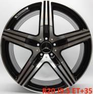 Mercedes AMG. 9.5x20, 5x112.00, ET35, ЦО 66,6мм.