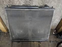 Радиатор охлаждения двигателя. Mitsubishi Delica, PD8W, PE6W, PE8W, PF6W, PF8W Двигатель 4M40