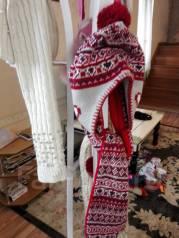 Шапка и шарф. Рост: 110-116 см