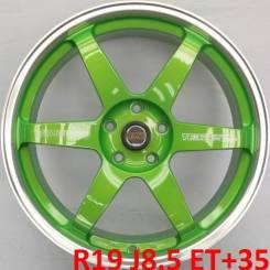 RAYS VOLK RACING. 8.5x19, 5x114.30, ET35, ЦО 73,1мм.