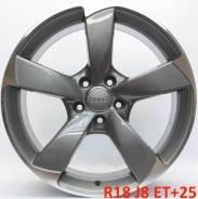 Audi. 8.0x18, 5x112.00, ET25, ЦО 66,6мм.