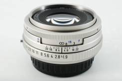 Объектив Pentax smc FA 43mm F1.9 Limited Silver (Made in Japan). Для Pentax, диаметр фильтра 49 мм